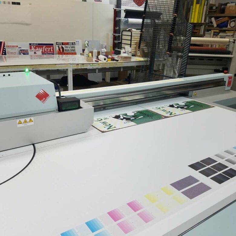 Custom sign printing in Appleton, Neenah, and Green Bay, WI